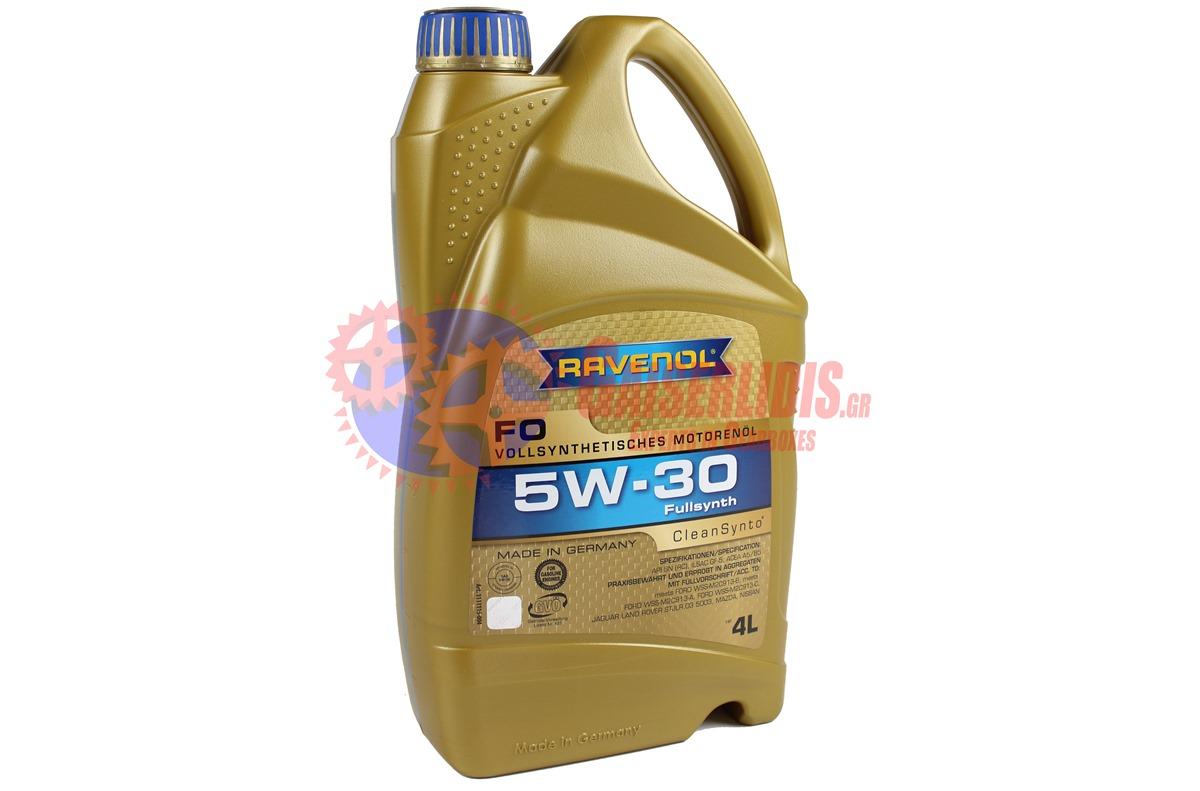 Λάδι FO SAE 5W-30 4L RAVENOL OIL0037