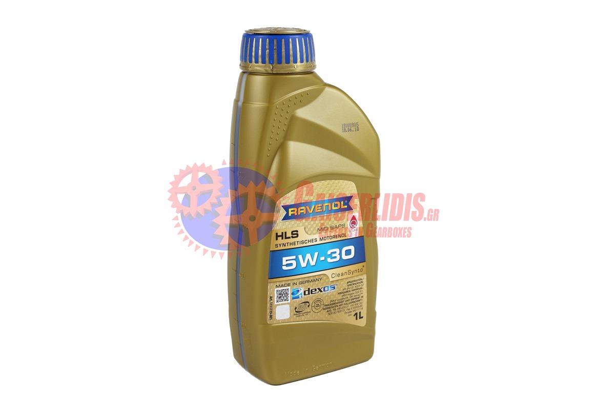 Λάδι HLS SAE 5W-30 1L RAVENOL OIL0067