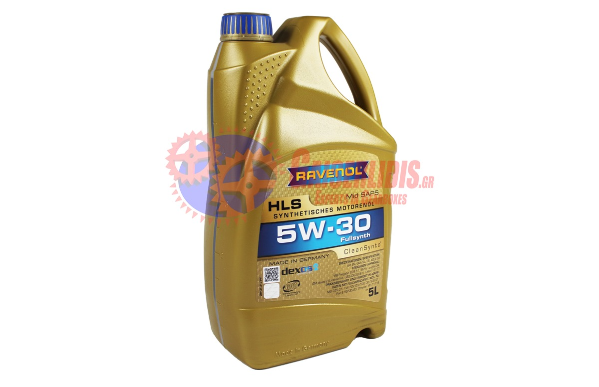 Λάδι HLS SAE 5W-30 5L RAVENOL OIL0017