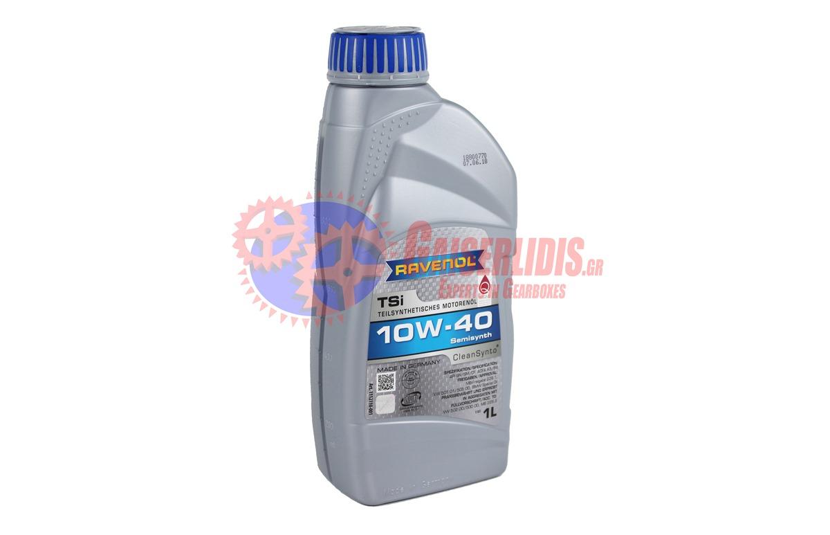Λάδι Tsi SAE 10W-40 1L RAVENOL OIL0079