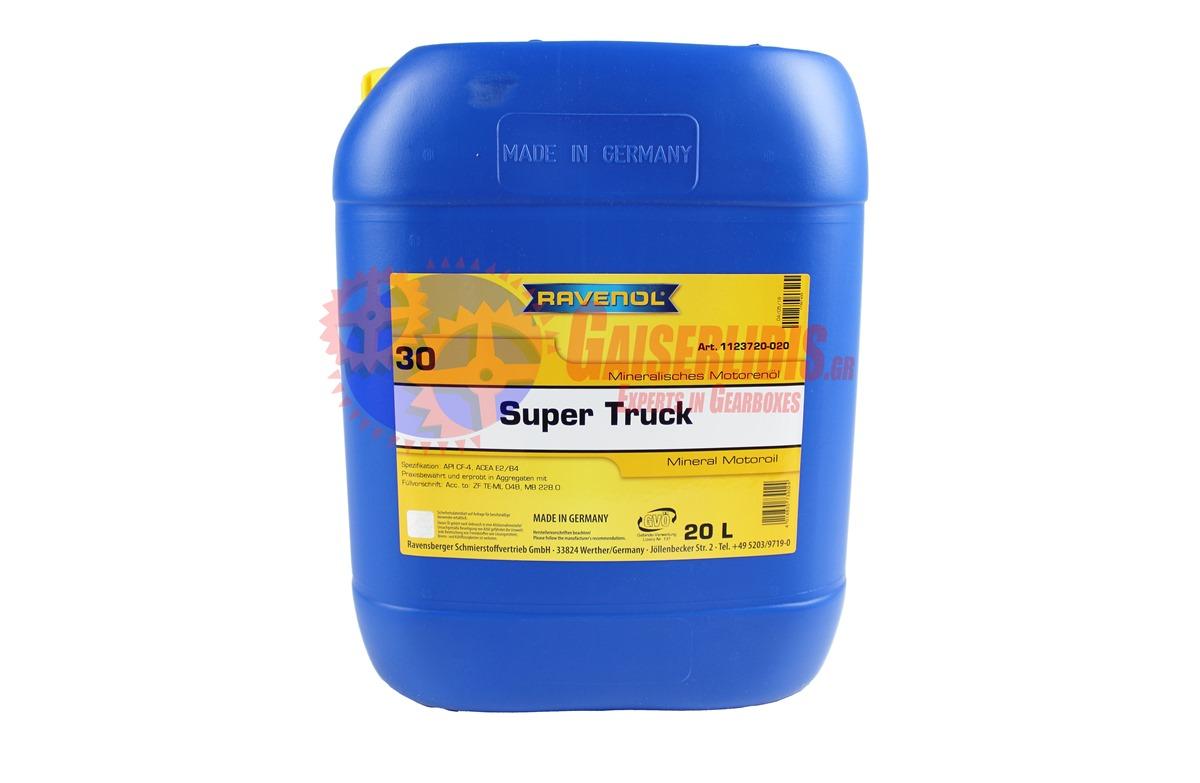 Λάδι SUPER TRUCK SAE 30 20L RAVENOL OIL0028