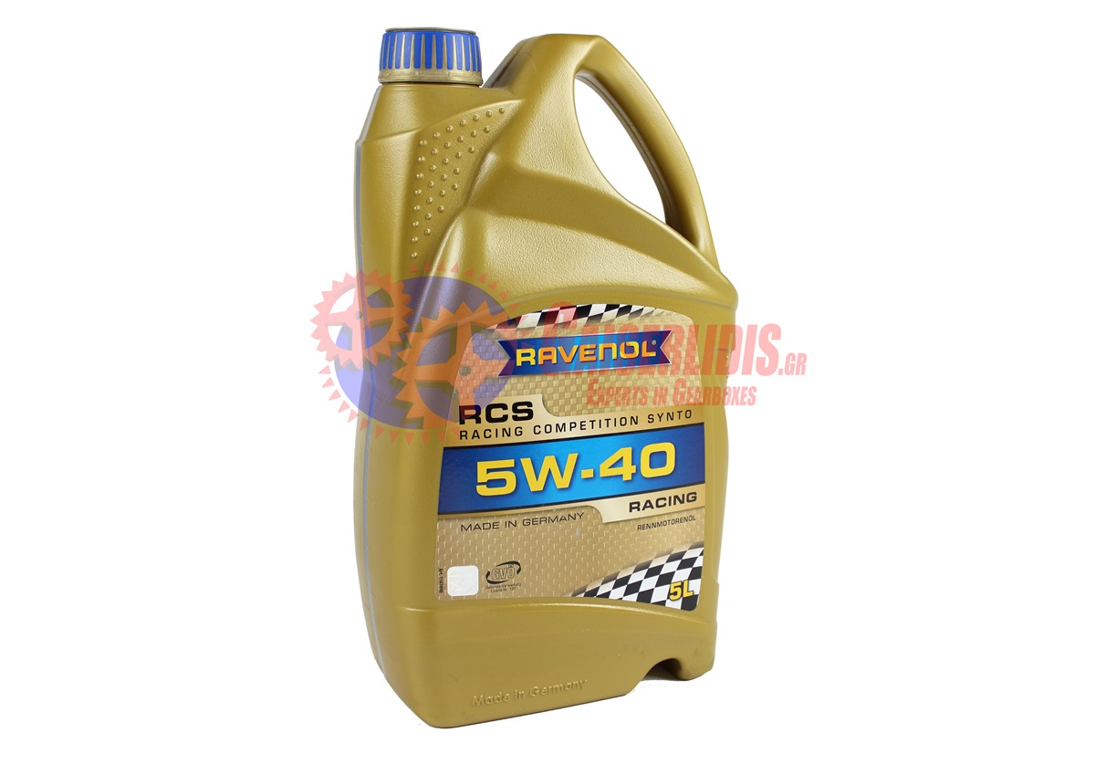 Λάδι RCS RACING SAE 5W-40 5L RAVENOL OIL0018