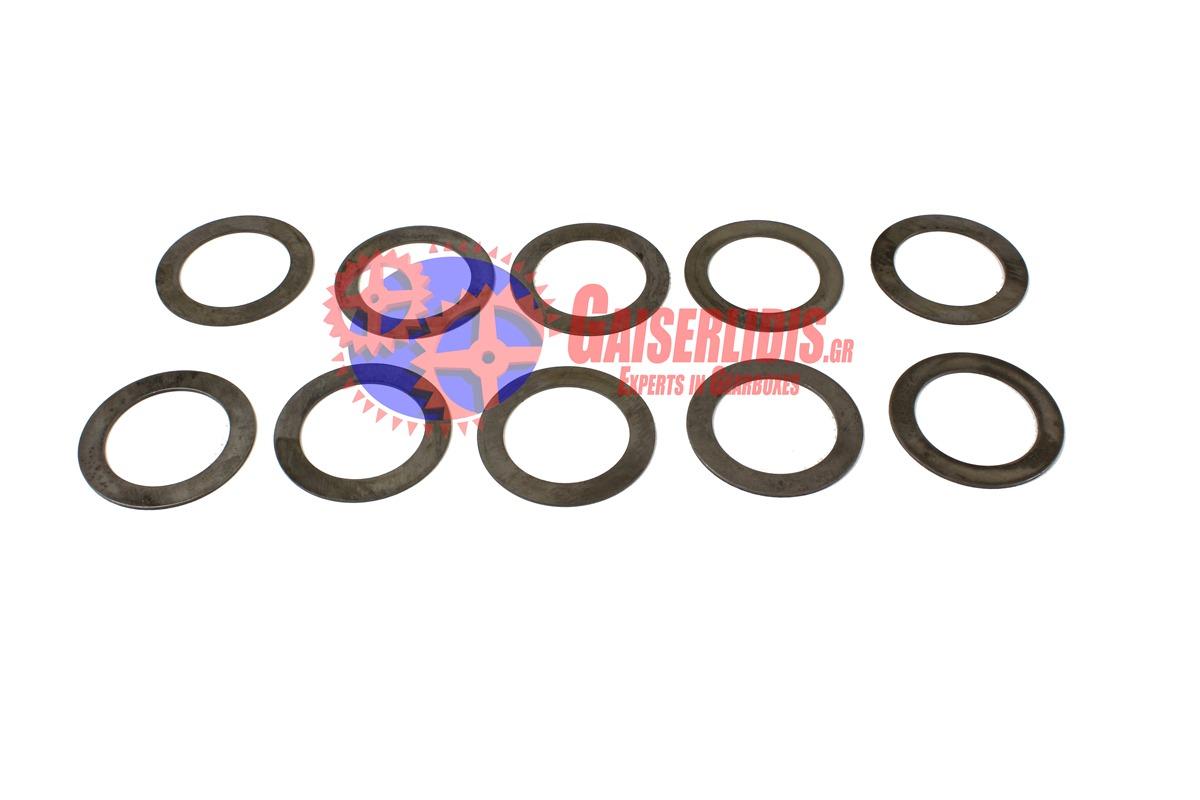 Σετ Ροδέλες Με Κάρο 1,55-1,75mm 298452 D0014