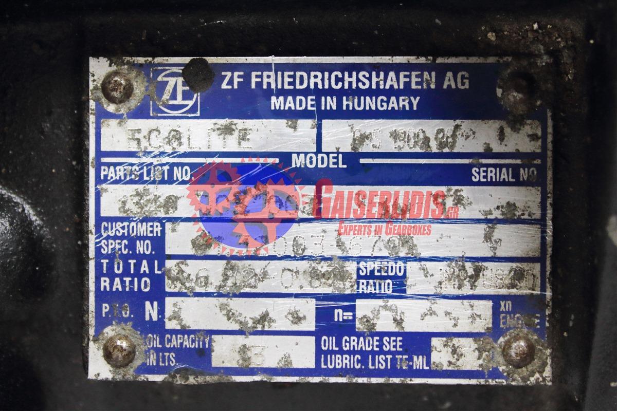 Σασμάν ZF 6S-1900 BO G0019