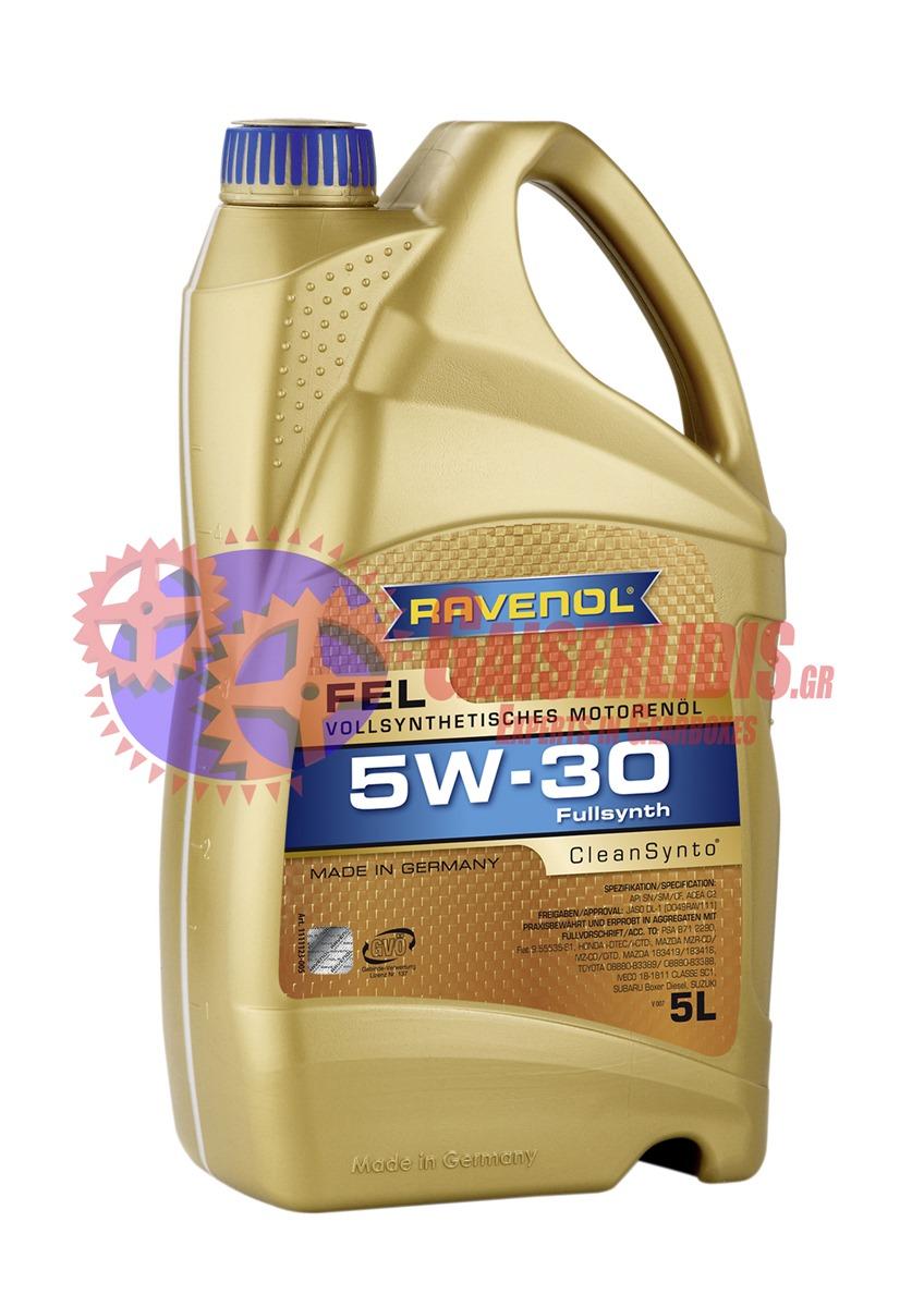 Λάδι FEL SAE 5W-30 5L RAVENOL OIL0038